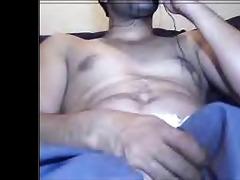 pakistani lad farhan jerking on cam