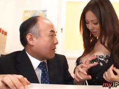 breasty teacher ruri saijo bounces part1