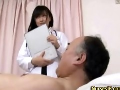 japanese honey nurse receives ribald