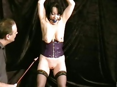 crying older slavegirl chinas ballgagged electro