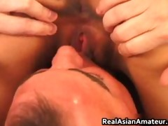 asian bitch anal drilled while riding her part6