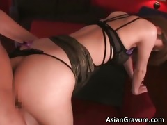 hot oriental sweetheart with great gazoo takes