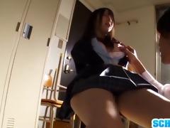concupiscent japanese schoolgirl ruka