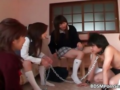 trio oriental bitches are having hot joy part9
