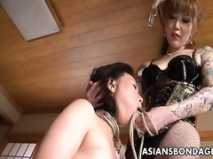 coarse oriental headmistress ploughs her lovely