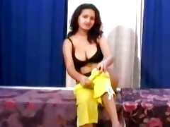indian sweetheart sanjana acquires massaged and