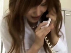 tokyo secretary from tokyo with wazoo milk