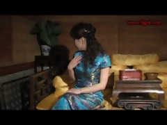 chinese servitude very hawt chipao stockings and