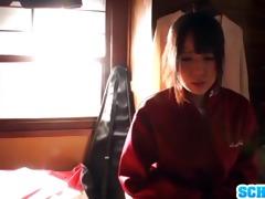 excellent oriental schoolgirl ruka
