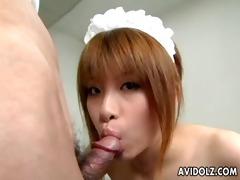 pretty hitomi odagiri gratifying her pussy