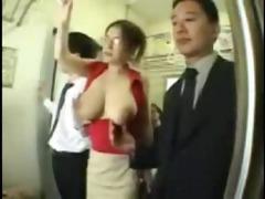 large milk sacks oriental groped on teach
