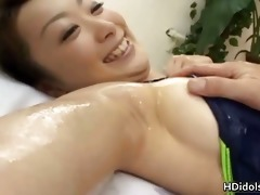 super slutty oriental babe overspread in cock