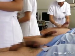 group sex with asians giving cook jerking