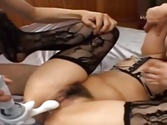 hot oriental anal penetrate with underware