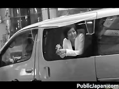 fucking in a van in public receives part3