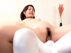 blameless oriental chick is licking a muff part10