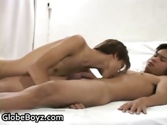 sucking off his gay oriental buddy part9