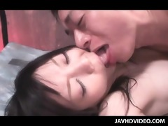 enjoyable oriental sex bondman pounded hardcore