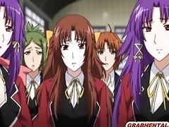 japanese manga schoolgirl self masturbation