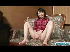 aoba squirm beneath sextoy and screech at sextoy