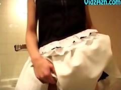 cute japanese gal toe licking footworship