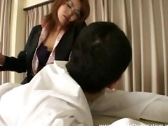 professor slaps and whips her bully students ass