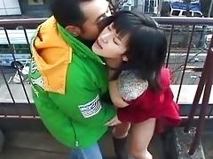 dilettante oriental gf bonks her pervy boyfriend