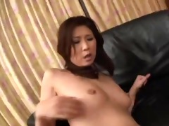 naughty japanese mama gets double penetration by