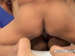 oriental twink getting screwed