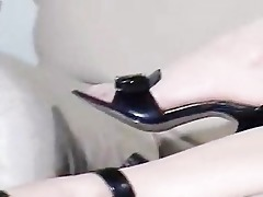 smokin oriental pov with leather gloves