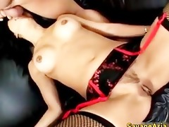 lustful oriental wench sucking and fucking part6