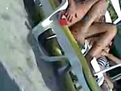 spy livecam on beach
