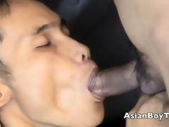 sexy oriental fleshly blowjob