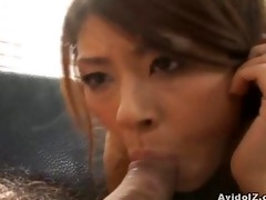 japanese chick receives her hirsute pussy