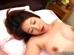 astounding breasty oriental honey getting fucked