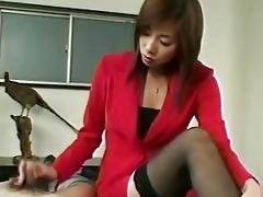 japanese tugjob on desk