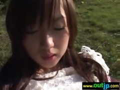 japanese gals receive fuck hard in wild places