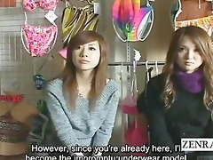 subtitled amused japanese amateurs view crazy