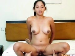 sexy filipina honey with fantastic tits acquires