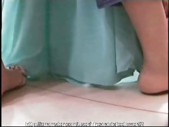 candid arabic feet 43