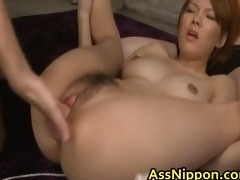 sexy oriental chick gets wet crack and arsehole
