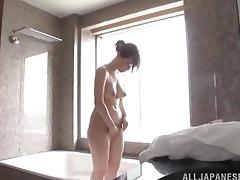 hawt oriental angel in shower/bath