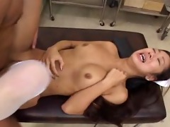 erena fujimori aroused real oriental nurse part7