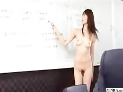 male japanese employees go stripped at work