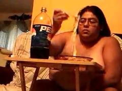 bulky retarded floozy alma smego eating exposed
