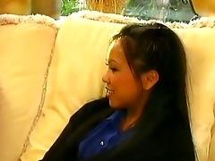 oriental schoolgirl meets large cock