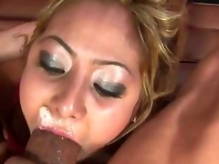 oriental women unfathomable mouth fellatio with