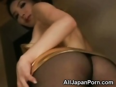 japanese playgirl in pantyhose!