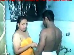 indian aunty sex baths and fucking in the washroom