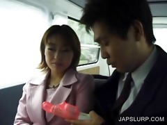 japanese angel acquires body toyed in car